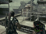 Oil field dock in-game (RE5 Danskyl7) (9)