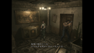 Resident Evil 0 HD - Cafeteria tree examine Japanese