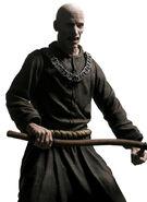 Los Illuminados Monk (brown w sickle weapon) 2