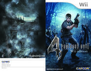 Resident Evil 4 Wii Edition Instruction Booklet 1