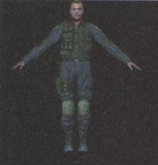 Degeneration Zombie body model 2