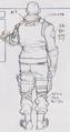 Resident Evil 3 Nikolai Zinoviev concept art 1