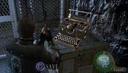 Resident Evil 4 Typewriter