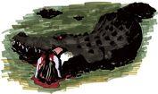 Alligator - BIOHAZARD 1