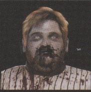Degeneration Zombie face model 31