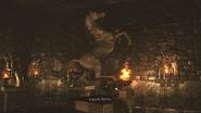 Resident Evil 0 HD - Basement hall horse examine 2
