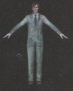 Degeneration Zombie body model 50