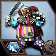 BIOHAZARD Clan Master - BOW card - Clown Zombie