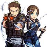 Biohazard Clan Master Chris & Jill