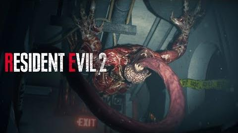 Resident Evil 2 - Licker Battle Gameplay