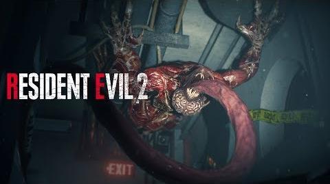 Resident Evil 2 - Licker Battle Gameplay