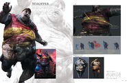 Resident Evil 6 Artworks - Creature Design (6)