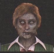 Degeneration Zombie face model 50