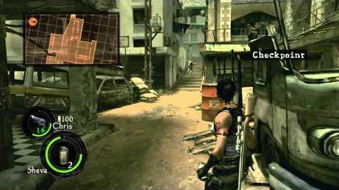 PC Longplay 455 Resident Evil 5 (part 1 of 4) 2P - Sheva Side
