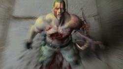 Krauser derrotado por Leon