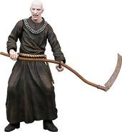 Los Illuminados Monk (brown w sickle weapon)