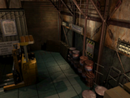 Resident Evil 3 background - Uptown - warehouse b1 - R10109