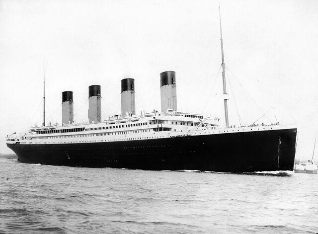 File:RMS Titanic departing Southampton.jpg