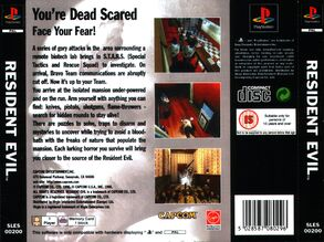 Resident Evil PAL English 300dpi back
