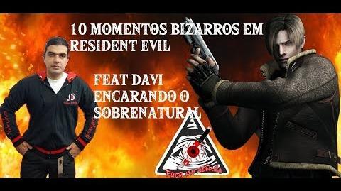 10 Momentos Bizarros em Resident Evil Feat Davi Encarando o Sobrenatural