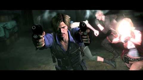 Resident Evil 6 all cutscenes - Derek's True Nature (Leon's version)