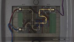 RE2 remake Electronic Door Panel puzzle (Leon, 1st)