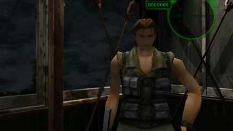 Resident Evil 3 Nemesis cutscenes - Against the Chopper (Negotiate with Nicholai)