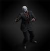 Zombie president diorama