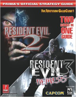 Resident Evil 2 3 Nemesis Primas Official Strategy Guide