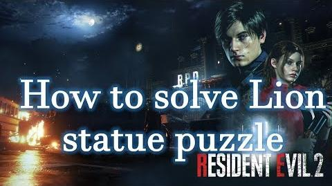 Resident Evil 2 Remake Guides How to solve Lion Statue puzzle