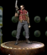 Barry Burton figurine