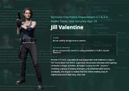 RE RES Jill select screen