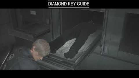 Resident Evil 2 Remake Guides Diamond Key Guide