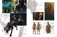 Resident Evil 6 Artworks - Creature Design (4)