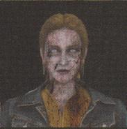 Degeneration Zombie face model 18