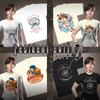 RE0HD DLC Campaign Reward Pack T-Shirts