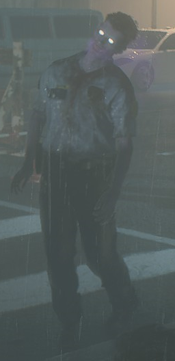 RE2make Poison Zombie