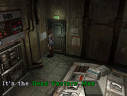 RE3 Dead Factory Map location