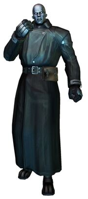 Trenchy in Resident Evil The Darkside Chronicles