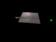 RE2 Watchman's diary 01