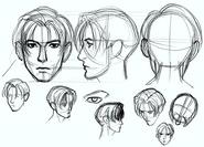 BH2-Leon 1.5 Face sketch
