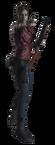 PUBG Mobile X Resident Evil 2 Claire Skin Set