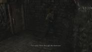 Resident Evil 0 HD - Storage Yard drainage examine 2