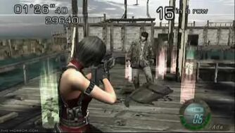 Resident Evil 4 - Mercenaries Ada Waterworld.flv
