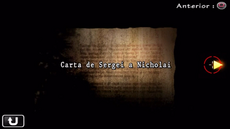 Carta de Sergei a Nicholai