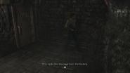 Resident Evil 0 HD - Storage Yard drainage examine 1