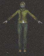 Degeneration Zombie body model 43