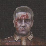 Degeneration Zombie face model 38