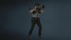 RE2 remake MODEL - Leon (Arklay Sheriff)