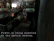 RE3 Factory Power Room 7
